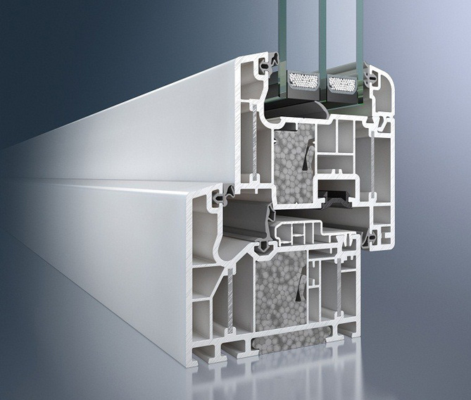 ПВХ-система Schüco Alu Inside (ThermoPlus)