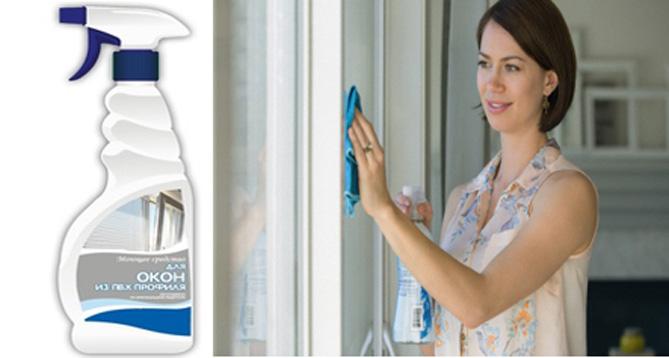 мытьё окна